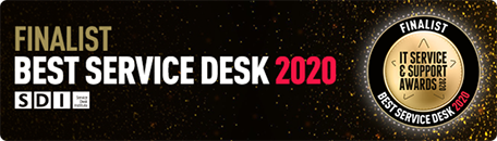 Finalist Best Serice Desk 2020